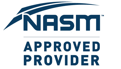 National Academy of Sports Medicine (USA) NASM: 1.9 CEUs